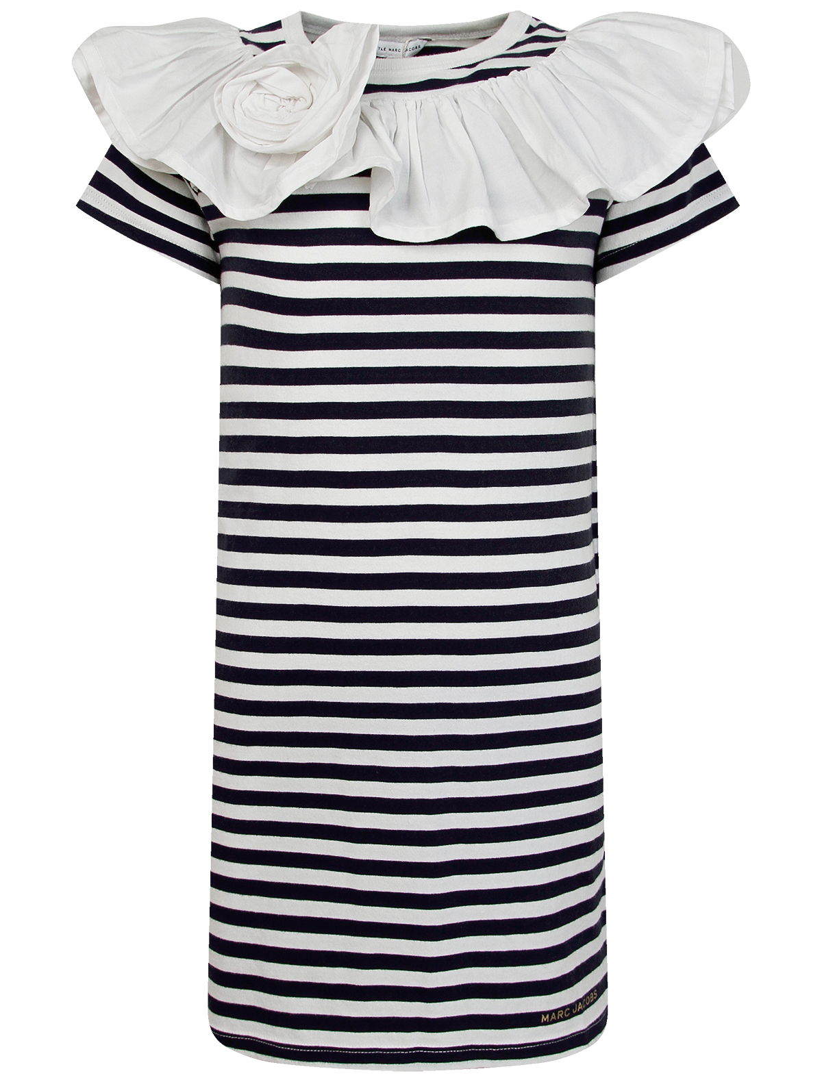 Платье LITTLE MARC JACOBS цв. белый/синий, р. 92
