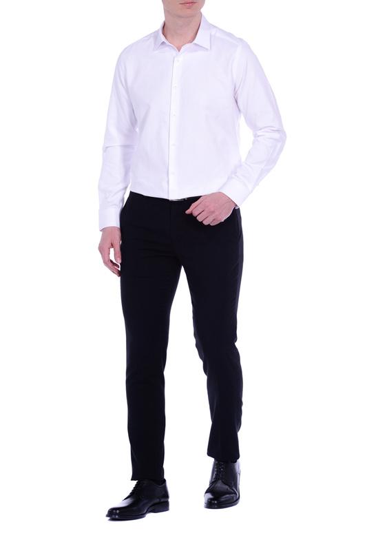 Рубашка мужская KarFlorens ERKA3-01 белая 44