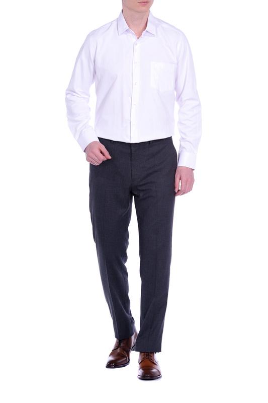 Рубашка мужская KarFlorens ERKA1-01 белая 46
