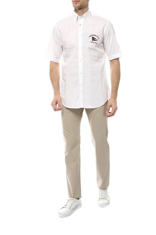 Рубашка мужская Paul & Shark E19P3449/010 белая 54-56
