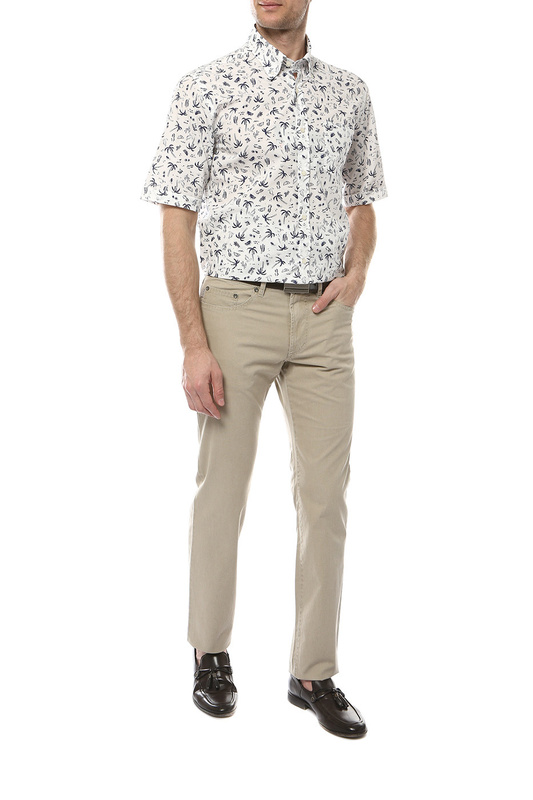 Рубашка мужская Paul & Shark E19P3127/019 белая 50-52