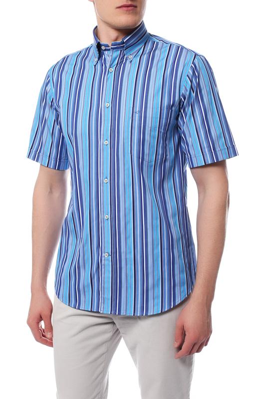 Рубашка мужская Paul & Shark E11P0375/503 синяя 46