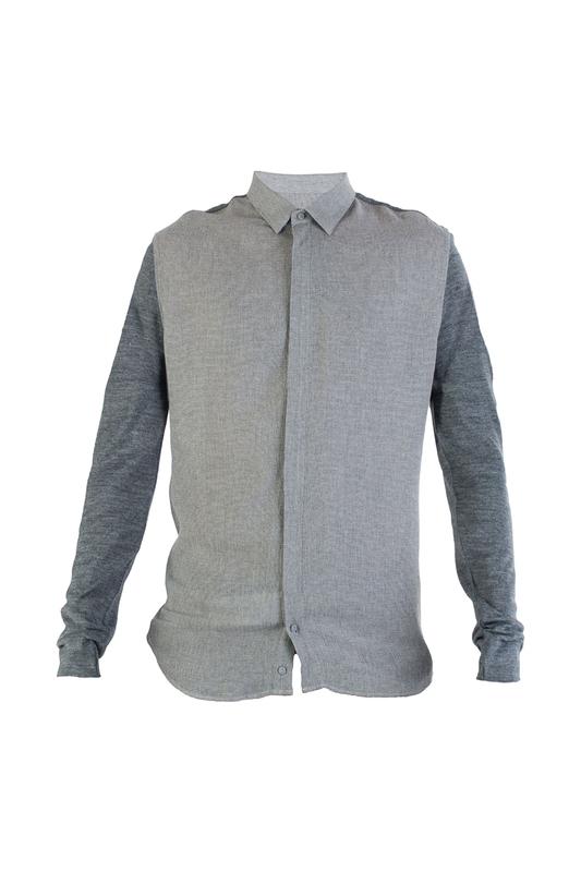 Рубашка мужская Emporio Armani 89233 коричневая 50