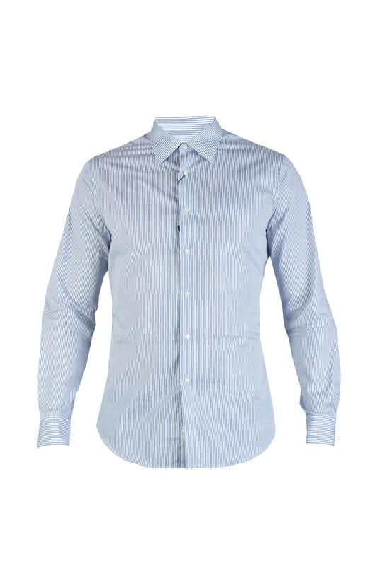 Рубашка мужская Tombolini 86312 серая 48