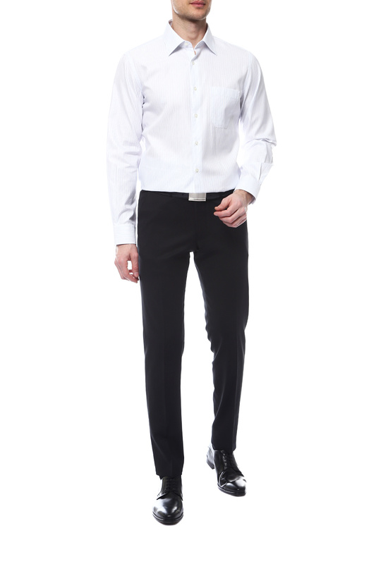 Рубашка мужская Corneliani 7811639/09Р208 белая 48