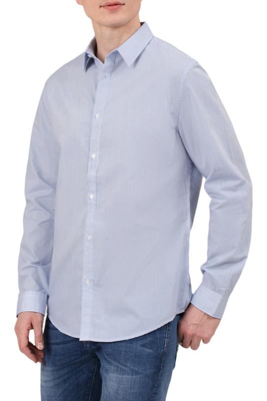 Рубашка мужская Tom Farr 7016.32_S18 голубая 50