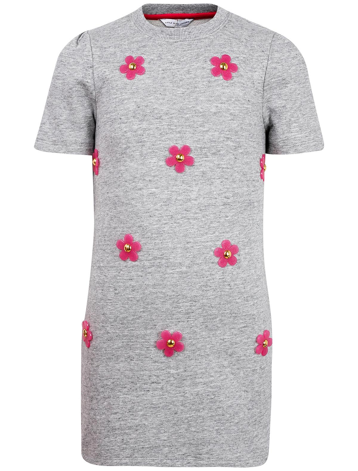 Платье LITTLE MARC JACOBS цв. серый, р. 98