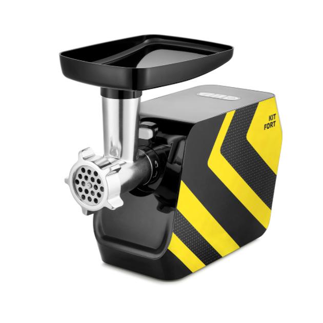 Электромясорубка Kitfort КТ 2106 4 Black/Yellow