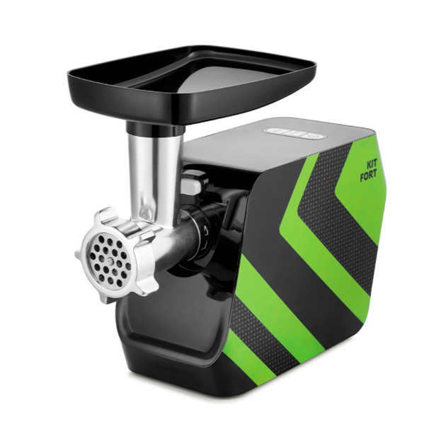 Электромясорубка Kitfort КТ 2106 2 Black/Green