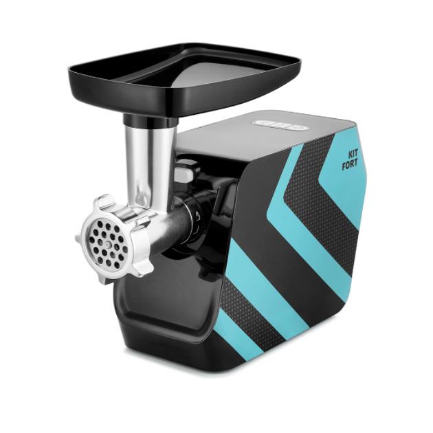 Электромясорубка Kitfort КТ 2106 1 Black/Blue