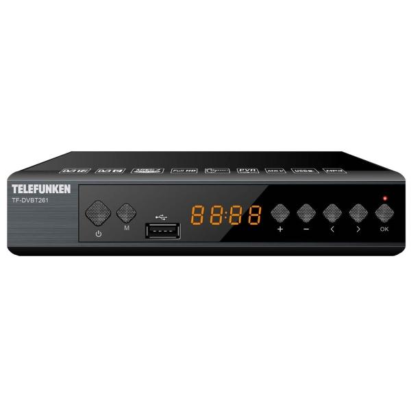 Приемник Telefunken TF-DVBT261 TF-DVBT260