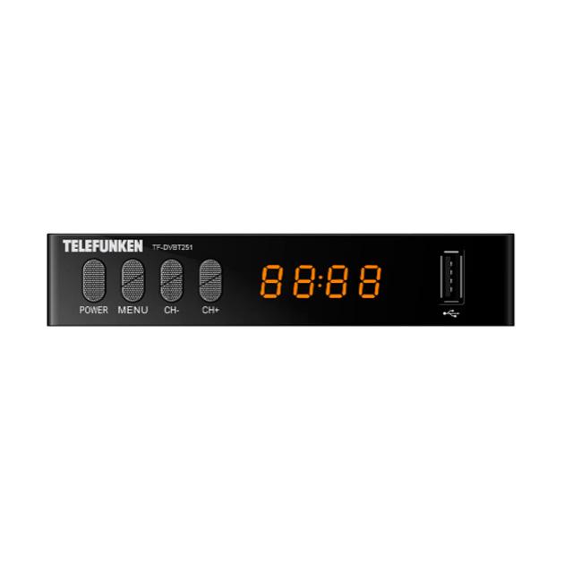 Приемник телевизионный DVB-T2 Telefunken TF-DVBT251