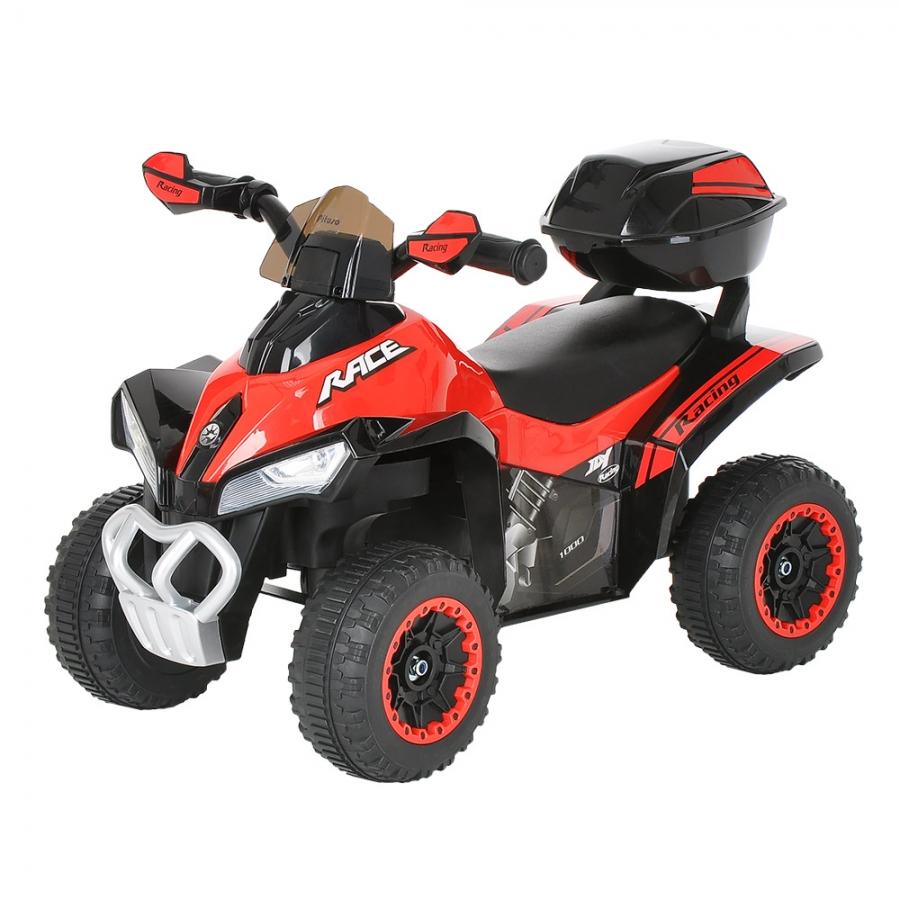 Каталка Pituso Квадроцикл с багажником Red
