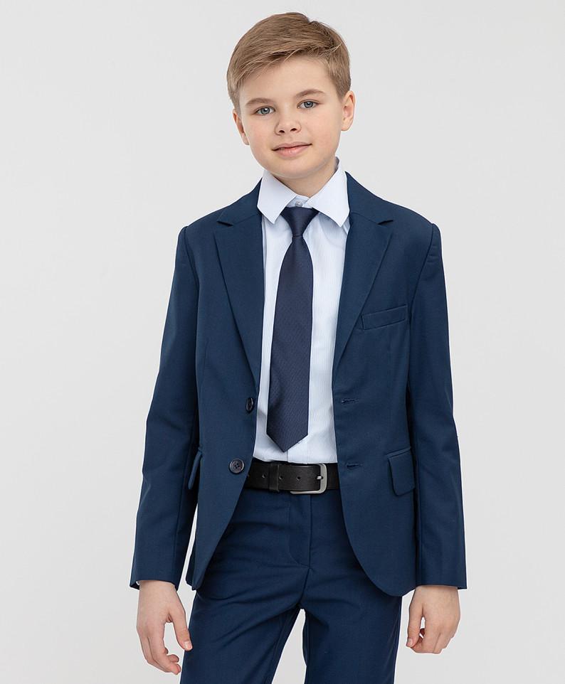 Купить 221BBBS48011000, Пиджак серый двубортный Button Blue 134,