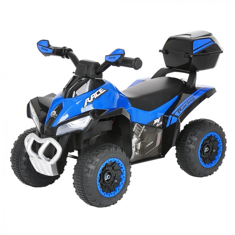 Каталка Pituso Квадроцикл с багажником Blue