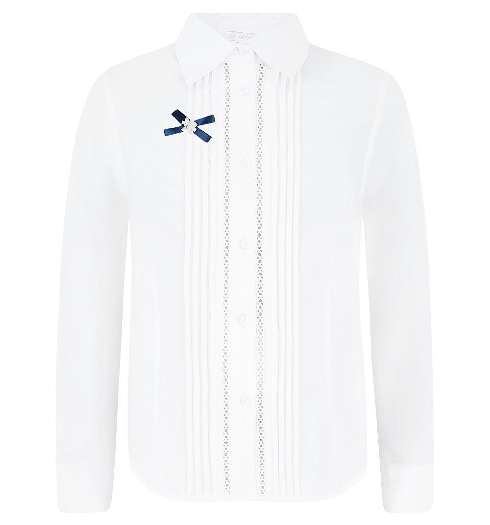 Блузка Colabear белый р.140 GL000495345