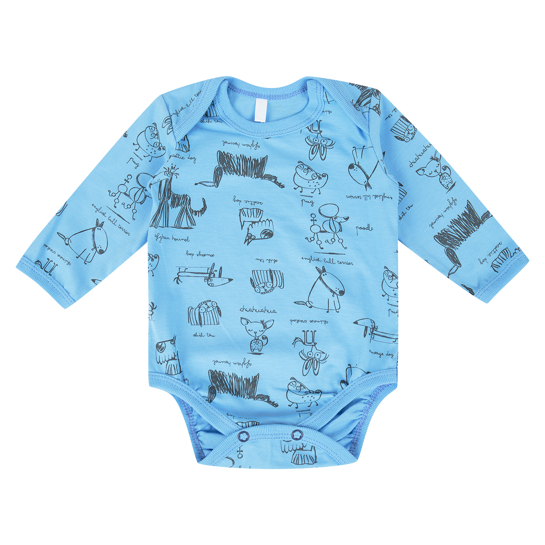 Купить GL001119111, Боди Leader Kids голубой р.56,