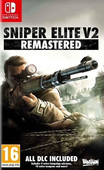 Игра Sniper Elite V2 Remastered для Nintendo Switch Sold Out