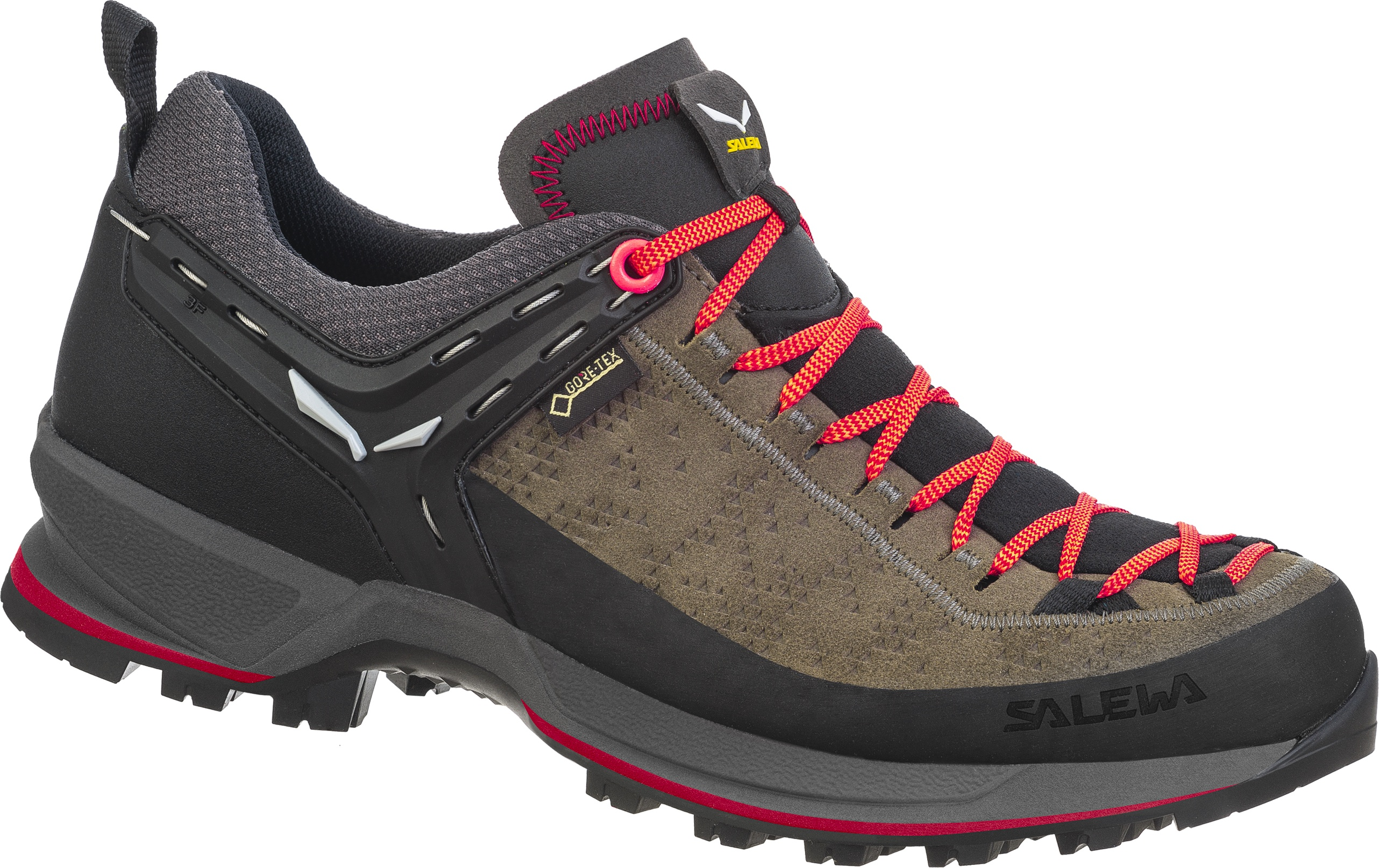 Ботинки Salewa Ws Mtn Trainer Gtx, driftwood/fluo coral, 6.5 UK