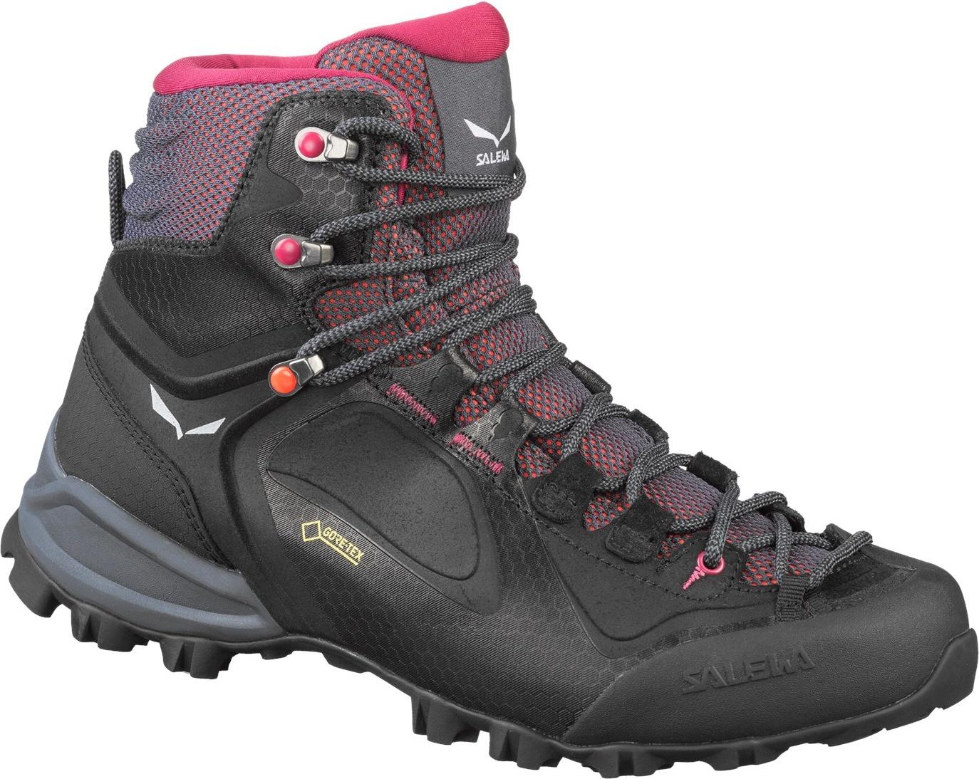 Ботинки Salewa Alpenviolet Mid Gore-Tex Woman's, розовые/черные, 7.5 UK