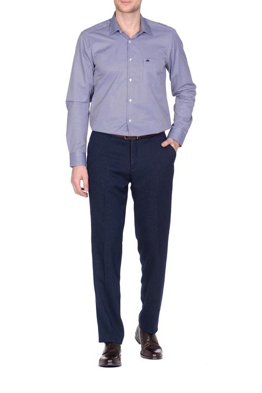 Рубашка мужская KarFlorens 501099-03 черная 46