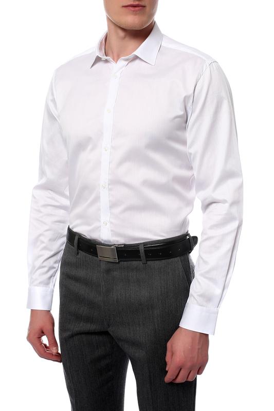 Рубашка мужская MONDIGO 420859 белая 46