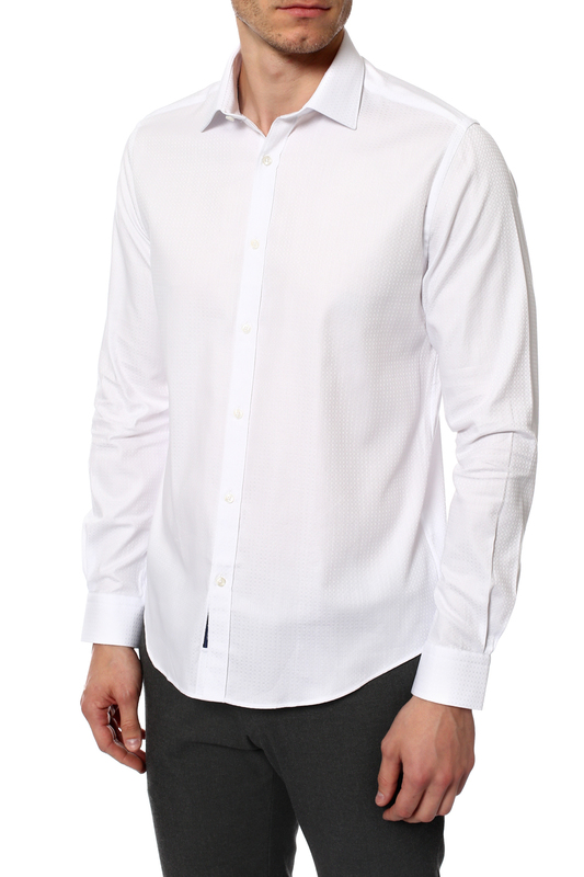 Рубашка мужская MONDIGO 420857 белая 46