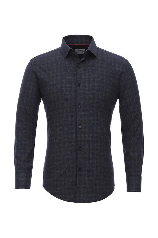 Рубашка мужская BAWER 2RY80012-06 синяя 52