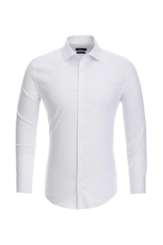Рубашка мужская BAWER 1SL03-03 белая 46