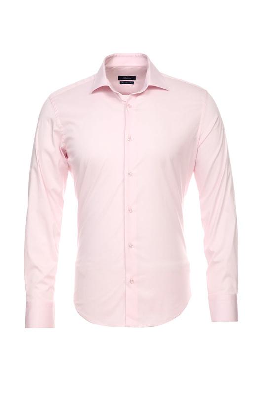 Рубашка мужская BAWER 1R00019 розовая 46