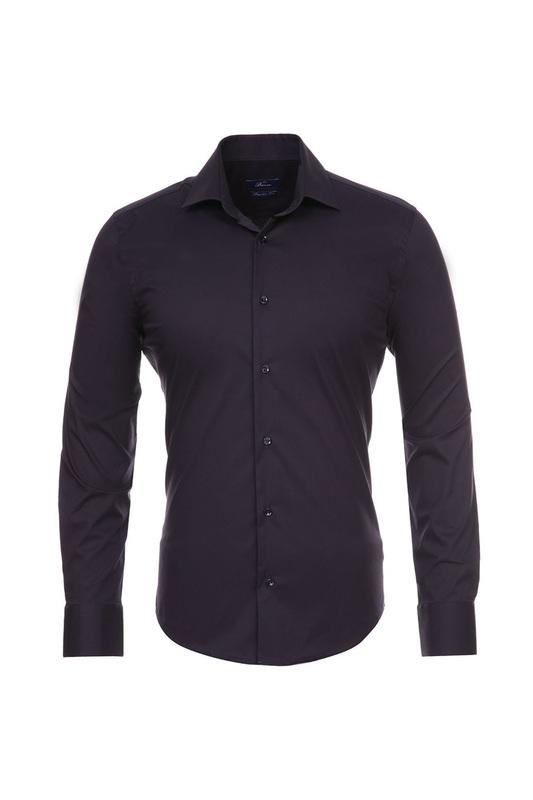 Рубашка мужская BAWER 1R00015 синяя 46