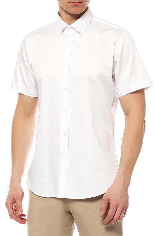 Рубашка мужская MONDIGO 18694 белая 50