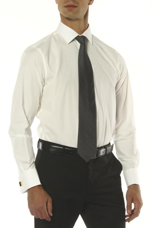 Рубашка мужская MONDIGO 16604 белая 50
