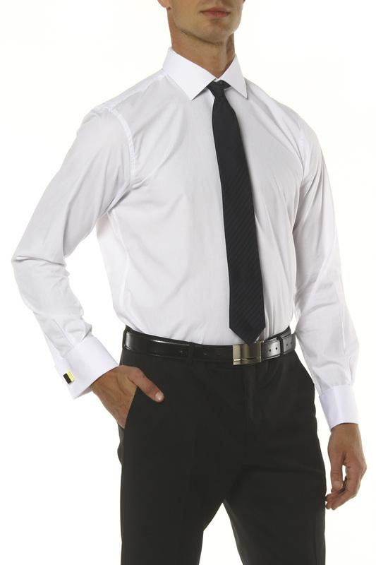 Рубашка мужская MONDIGO 16604/ белая 52