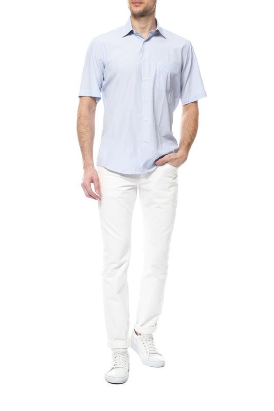 Рубашка мужская FAYZOFF-SA 1255SК-43 голубая 48