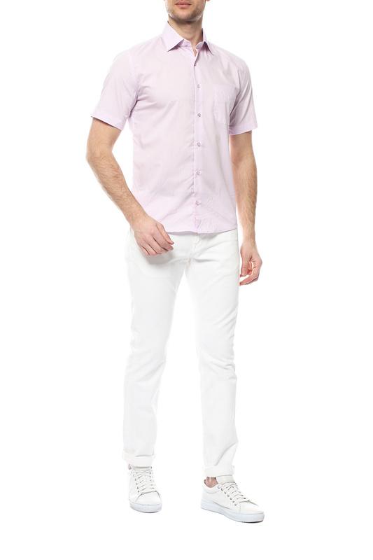 Рубашка мужская FAYZOFF-SA 1070S-33 фиолетовая 48