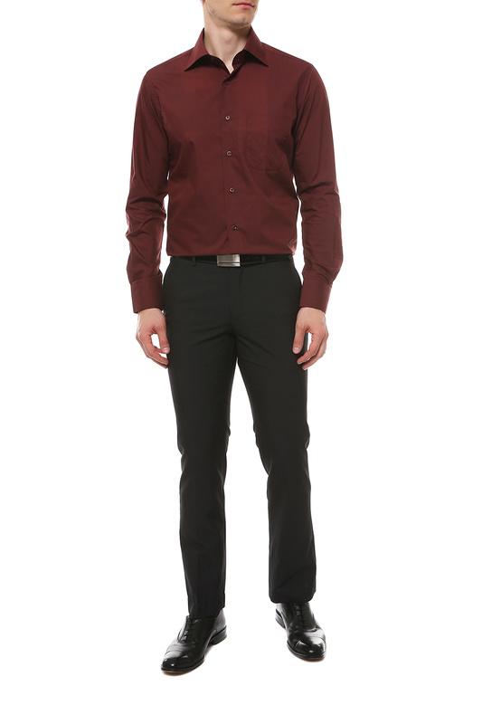 Рубашка мужская FAYZOFF-SA 1020S-35 коричневая 48