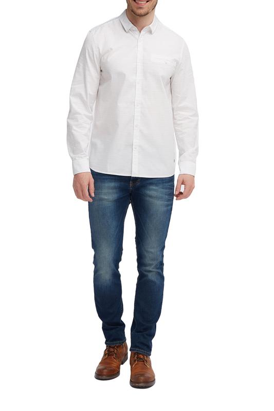 Рубашка мужская Mustang 1005985-11071 белая 50