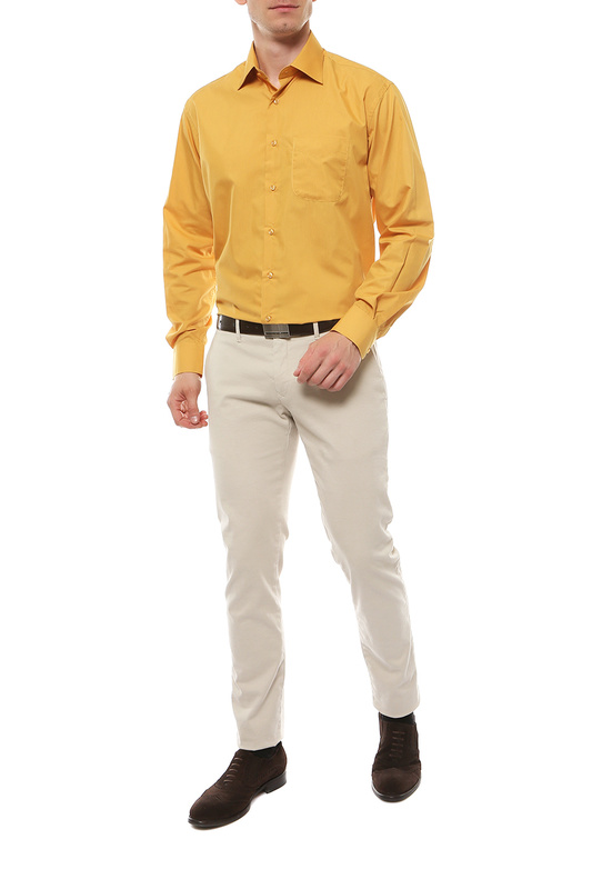 Рубашка мужская FAYZOFF-SA 1000-85 желтая 54