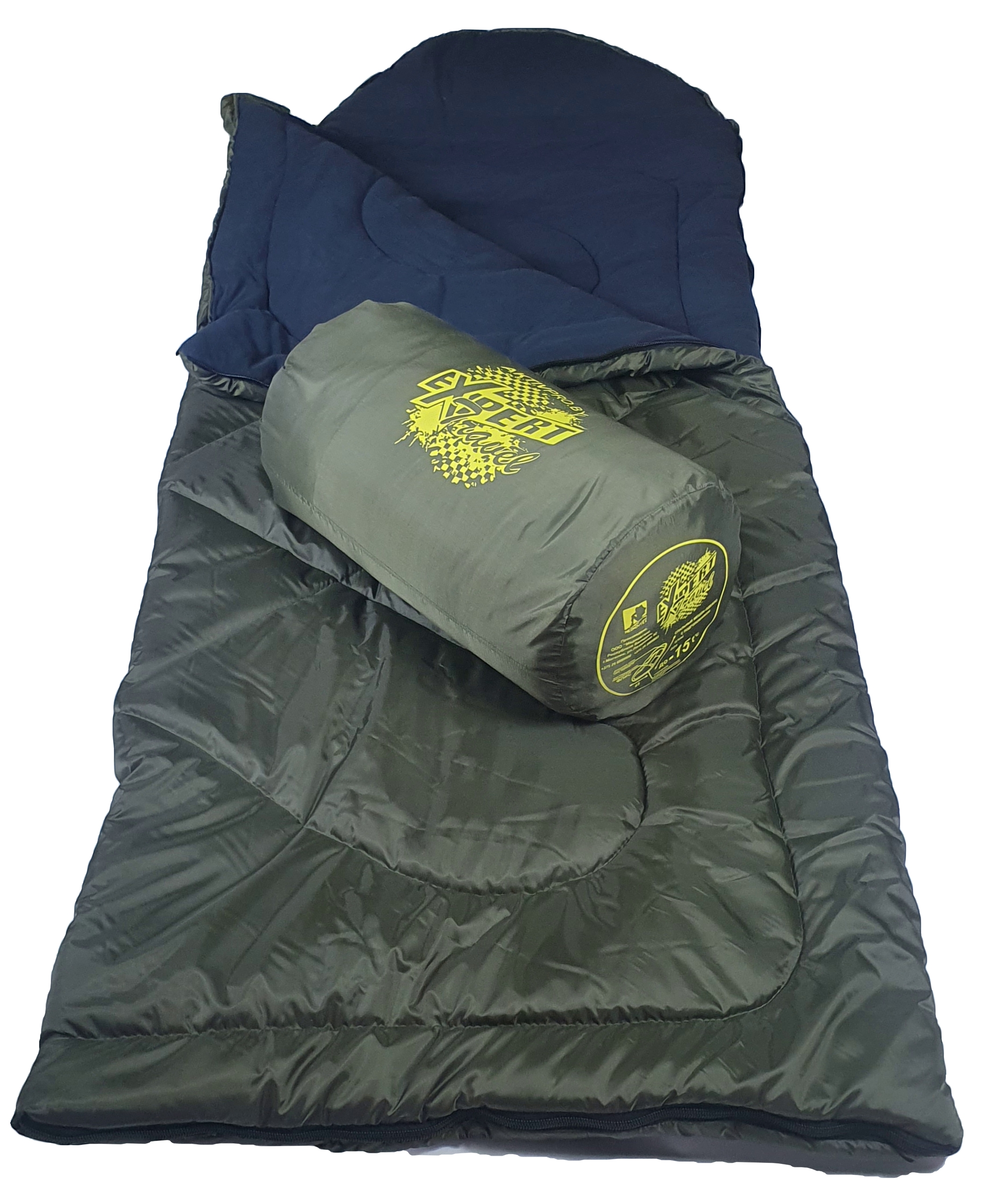 Спальный мешок MedNovtex Эксперт -15 (225/85 см)