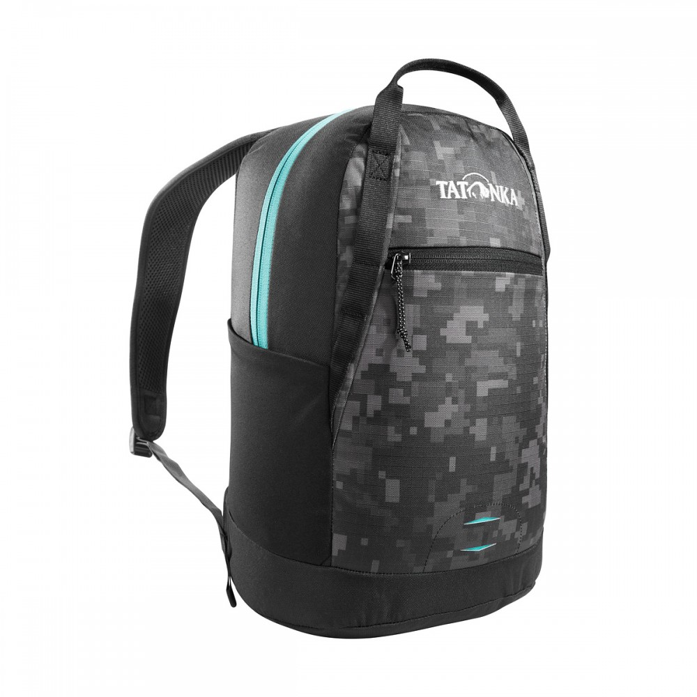 Рюкзак мужской Tatonka City Pack 15 black digi camo серый