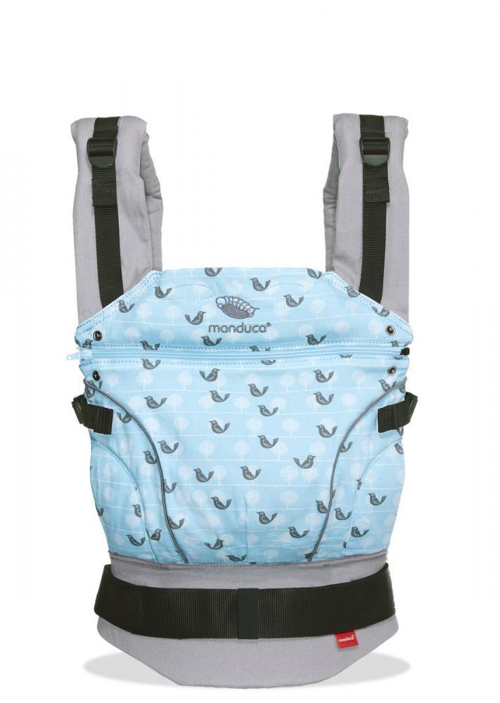 Слинг рюкзак Manduca birdie sparlingblue
