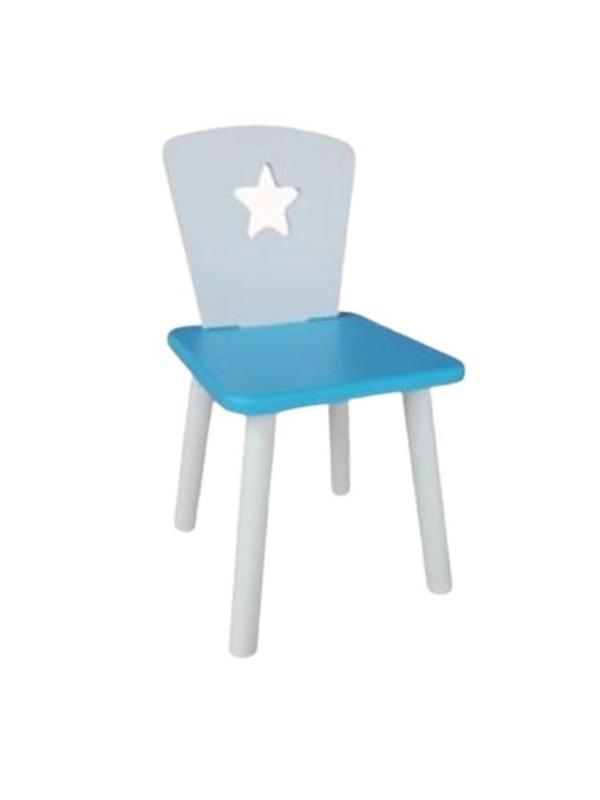 Стул Маленькая Страна звезда голубой