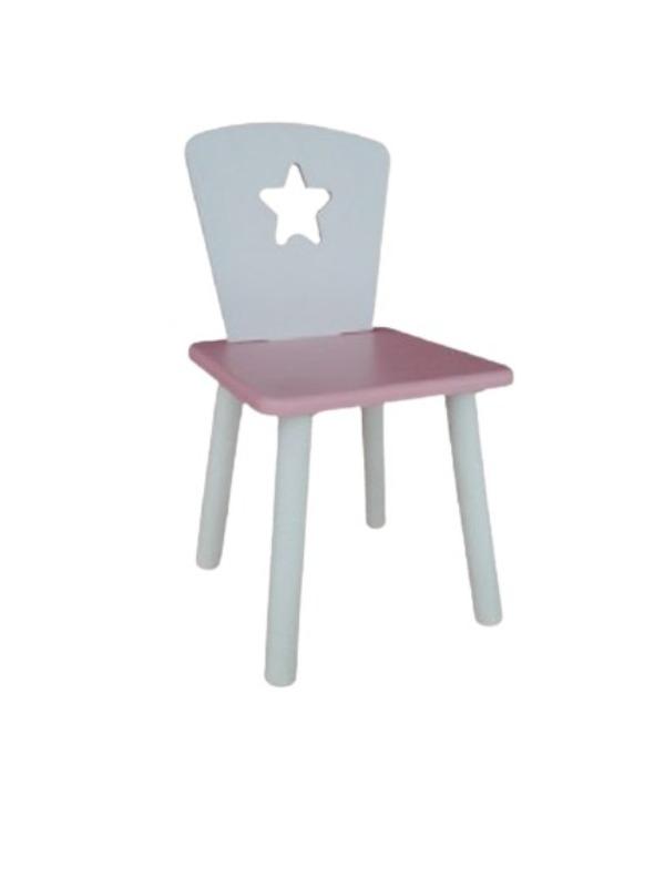 Стул Маленькая Страна звезда розовый