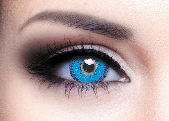 Купить Цветные контактные линзы Офтальмикс Colors, 2 шт. PWR -1, 50, R 8.6, Sky Blue