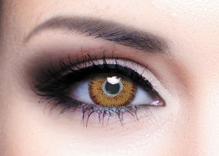 Купить Цветные контактные линзы Офтальмикс Colors, 2 шт. PWR -1, 50, R 8.6, Brown