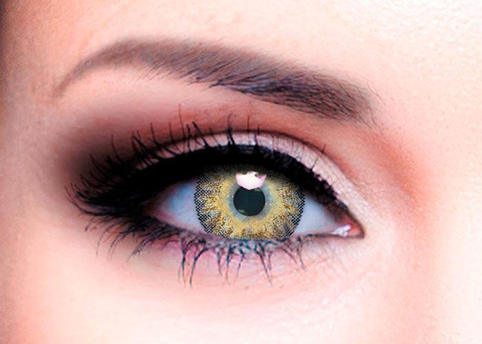 Цветные контактные линзы Офтальмикс Butterfly 3