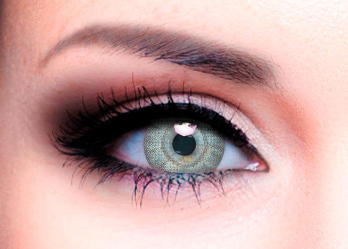 Купить Ophthalmix Butterfly, Цветные контактные линзы Офтальмикс Butterfly 2 шт. PWR -1, 50, R 8.6, Light Grey