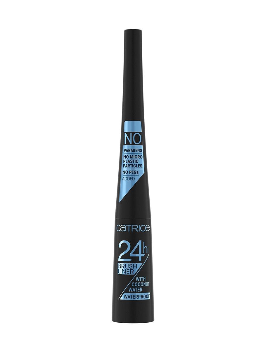 Купить Подводка для глаз CATRICE, 24h Brush Liner, Водостойкая 010 Ultra Black Waterproof
