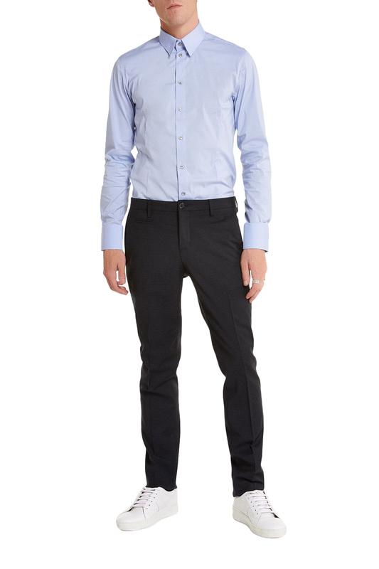 Рубашка мужская Patrizia Pepe 115217 голубая 52